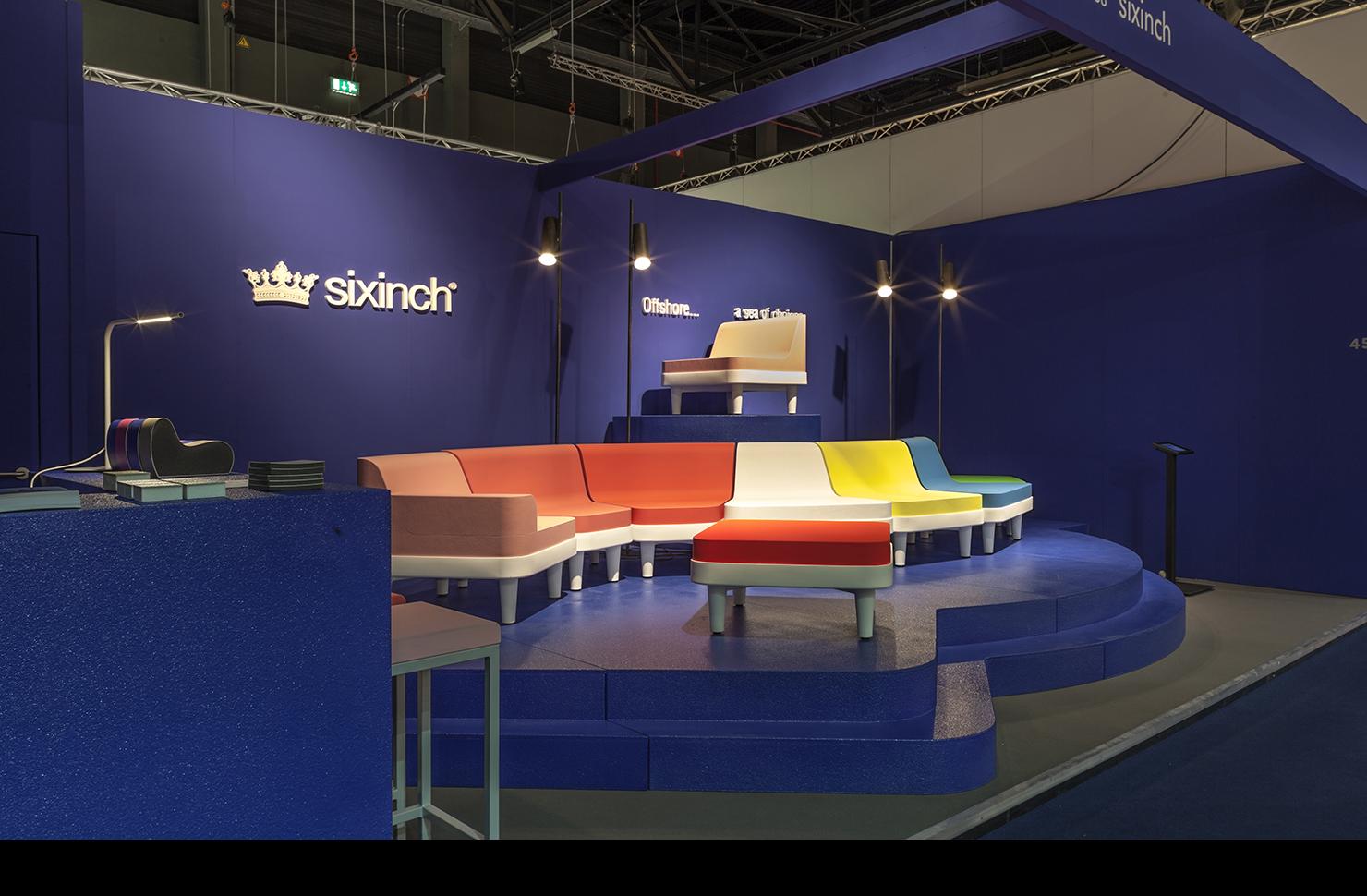 booth SIXINCH Interieur Kortrijk 2014