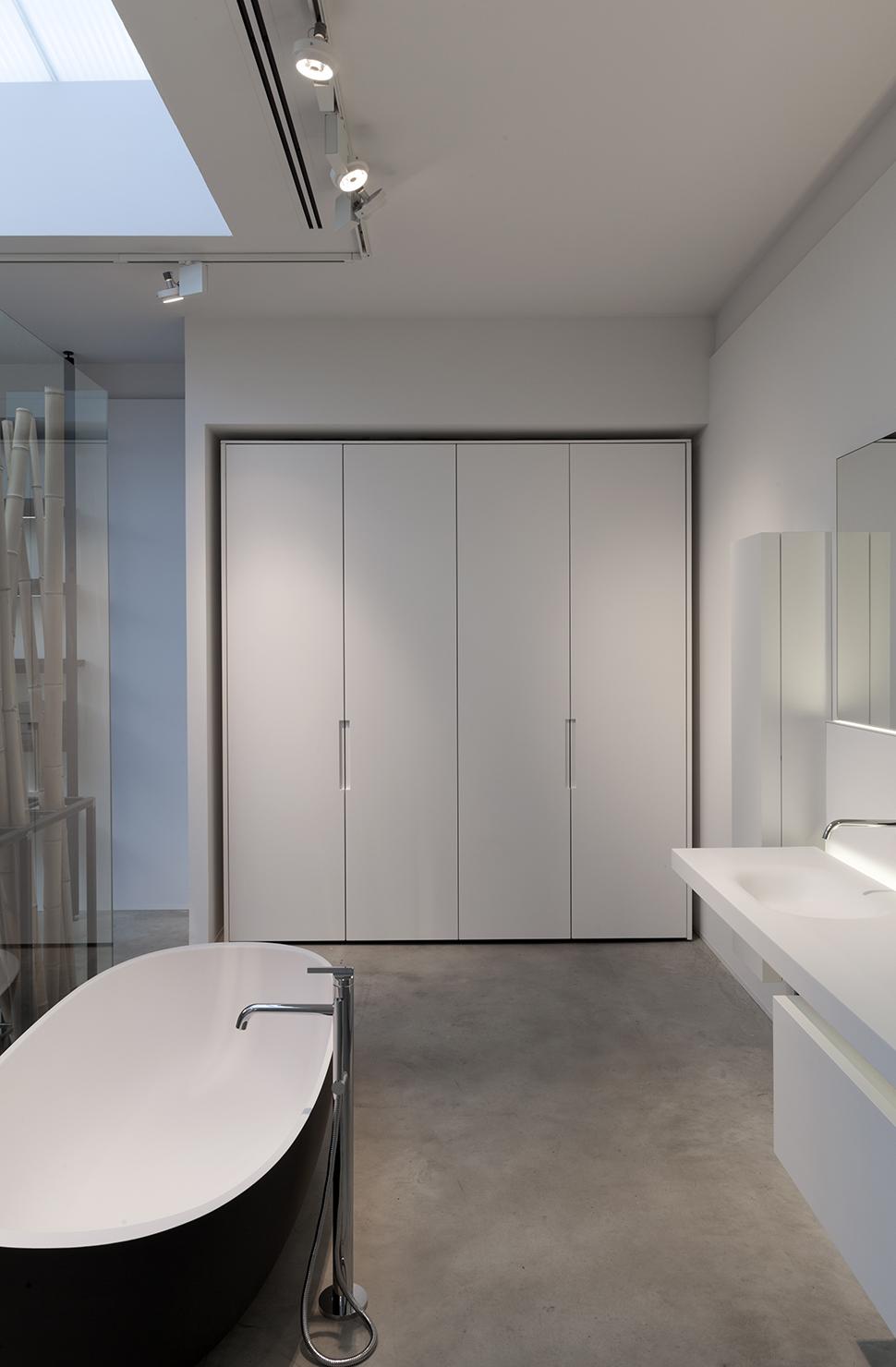 bathroom in a loft, BOFFI - antwerp